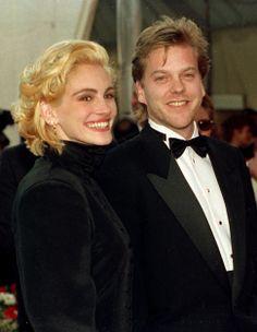 Julia Roberts y Kiefer Sutherland 10 parejas que dijeron 'adiós' antes de dar el 'sí, quiero'