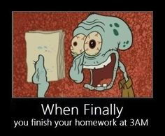 The Feeling After Having Finished Homework Memes. Updated daily, for more funny memes check our homepage. Demotivational Posters Funny, Homework Humor, Haha, 4 Panel Life, Funny Quotes, Funny Memes, Emo Quotes, Memes Humor, Look At You
