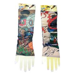 Buy Aashirwad Craft High Quality Stretchable Nylon Cloth Tattoo Art Arm Sleeves - Pack Of 2 by Aashirwad Craft , on Paytm, Price: Arm Sleeves, Tattoo Art, Arms, India, Medium, Tattoos, Crafts, Stuff To Buy, Clothes