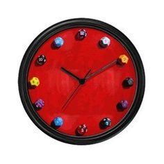 D12 Dice Clock
