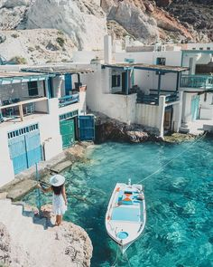 Wanderlust travel, travel bugs, santorini greece beaches, mykonos greece, g Dream Vacations, Vacation Spots, Vacation Travel, Vacation Outfits, Summer Travel, Cool Places To Visit, Places To Go, Beautiful Places To Travel, Romantic Travel