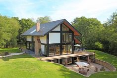 modern homes in england | On the market: Five-bedroom contemporary eco house in Heathfield, East ...