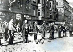 GERMANS WERE MADE TO WEAR THE CROSS SIGN AND KILLED AND THROWN OUT OF CZECHOSLOVAKIA IN 1945
