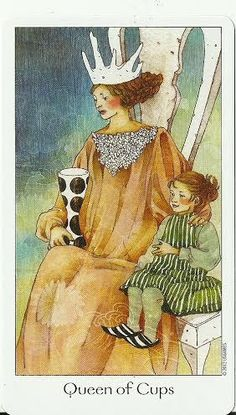 Dreaming way tarot - Queen of Cups