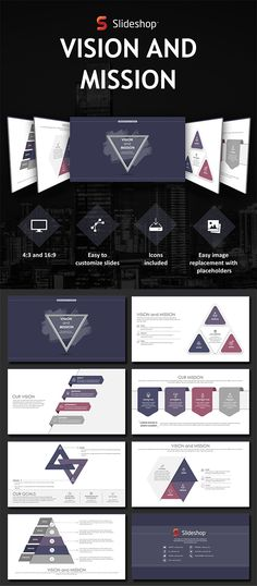 Vision and Mission - PowerPoint Template