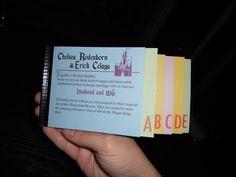 DIY Vintage Disneyland Ticket Book Wedding Invitations - This Fairy Tale Life