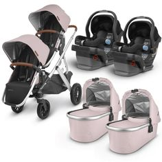 Double Stroller For Twins, Double Strollers, Baby Strollers, Travel System, Cute Baby Pictures, Saddle Leather, Baby Gear, Baby Car Seats, Two By Two