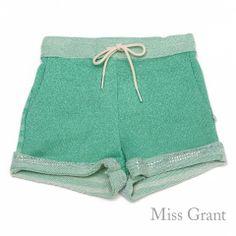 #missgrant LUREX FLEECE SHORTS. Sale 50% off Spring&Summer Collection! #discount