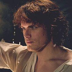 Jamie Fraser aka James Alexander MacKenzie Fraser.   The Wedding ep 107 Outlander Starz.