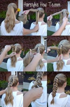 Pull Through Braid Tutorial