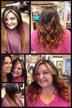 Check out this ombré color, by Marina at Belk Salon at Orange Park Mall