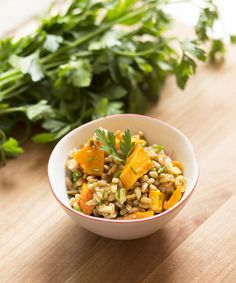 Farro And Butternut Squash - 10 Easy Unexpected Side Salads to Transform Your Weeknight Dinners - Photos