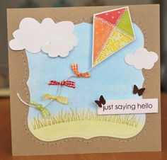 Sheree Forcier Blog: A little kite card...