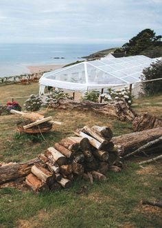 Our clear roof marquee and that awesome sea view. Perfect for a coastal beachy wedding day. Marquee Hire, Marquee Wedding, Wedding Venues, Wedding Day, Devon And Cornwall, Exeter, Beach Weddings, Beach Themes, Somerset