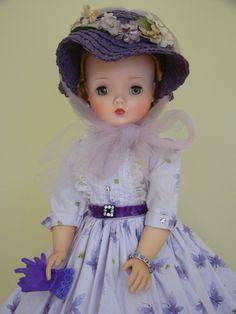 Butterfly dress, 1958 Old Dolls, Antique Dolls, Vintage Dolls, Vintage Madame Alexander Dolls, Sweet Violets, Glamour Dolls, Butterfly Dress, Vogue, Retro Toys