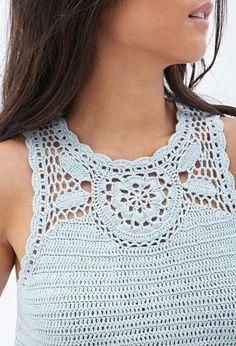 Outstanding Crochet: Crochet Top from Forever 21.