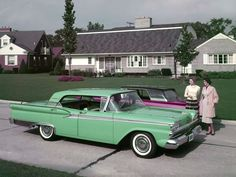 1959 Ford Fairlane 500 in ''April Green''