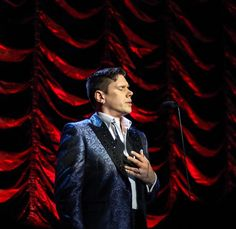 David Miller performing solo on the Il Divo Cruise 2017.