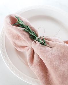 Wedding Table Linens, Wedding Napkins, Wedding Table Settings, Sage Wedding, Our Wedding, Party Wedding, Wedding Stuff, Sustainable Textiles, Sustainable Gifts