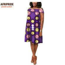 2018 african summer women dress AFRIPRIDE private custom off-shoulder casual midi pleated dress plus size pure cotton African Attire, African Fashion Dresses, African Dress, Cheap Dresses, Nice Dresses, Classy Wear, Dress Plus Size, Women Sleeve, Aliexpress