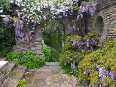 Hestercombe Gardens, Somerset, England.