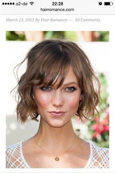 Locken/Wellen - feines Haar http://www.hairromance.com/2013/03/how-to-curl-short-fine-hair.html