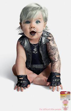 Playtex Ad Campaign: Yakuza Baby, Punk Girl and Tattoo Boy