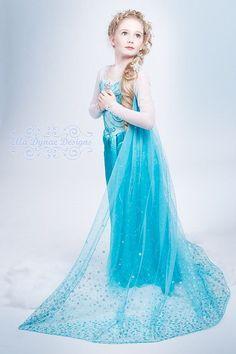 Disfraz niña frozen elsa