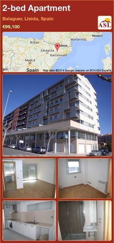2-bed Apartment in Balaguer, Lleida, Spain ►€99,100 #PropertyForSaleInSpain