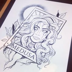 Medusa tattoo design Medusa tattoo design ,witchy Greek mythology Medusa tattoo design, tarot card, neotraditional Related posts:- Simple & Easy Henna Flower Designs of All Time Medusa Tattoo Design, Mandala Tattoo Design, Tattoo Design Drawings, Tattoo Sketches, Drawing Sketches, Tattoo Sketch Designs, Drawing Tattoos, Design Tattoos, Medusa Drawing