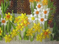 Pat Trott's 3D embroidery--need to get her book and start doing this!
