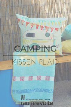 Auf zum Campen...stilecht mit pad Kissen