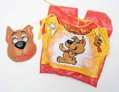 Scrappy+Doo+Scooby+costume+mask+box+vintage+halloween+Ben+Cooper+Collegeville+NR+