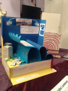 Tsunami Model Craft Ideas Science Projects For Kids