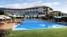 St Regis Mallorca Hotels: The St. Regis Mardavall Mallorca Resort - Hotel Rooms at stregis Top Honeymoon Destinations, Romantic Destinations, Amazing Destinations, Bora Bora, Hotels And Resorts, Best Hotels, European Honeymoons, Luxury Spa, Luxury Hotels