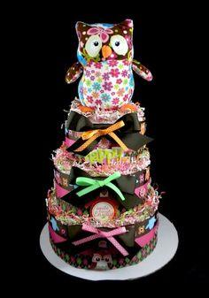 Loo Owl Cake