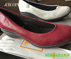 """Wygodne czułenka Arcopedico na antypoślizgowej podeszwie z lekkiego poliuretanu idealne do stroju """"biurowego"""". Vans Classic Slip On, Sneakers, Shoes, Fashion, Tennis, Moda, Slippers, Zapatos, Shoes Outlet"""