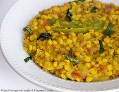 Punjabi Lentil  Curry - Gluten Free, Vegan