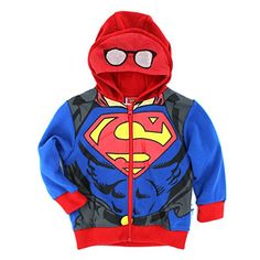 Superman Boys Zip Up Hoodie Sweatshirt (3T, Blue/Red Mask Costume) DC Comics http://www.amazon.com/dp/B016069A8U/ref=cm_sw_r_pi_dp_owp2wb1GE6D0B