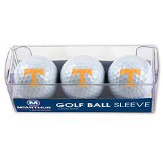 University of Tennessee Golf Balls - 3 pc sleeve