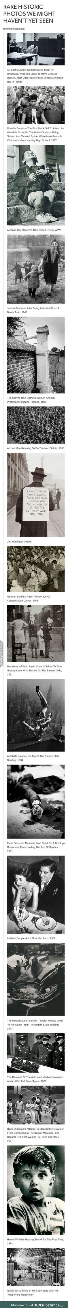 incredibly striking historical photos p. Look in the background