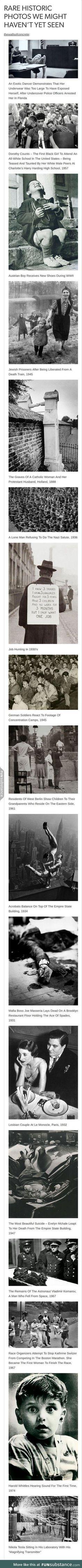 incredibly striking historical photos
