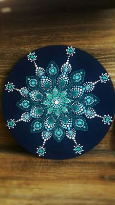 """""""Dreams are made when your eyes are closed."""" Mandala … """"Dreams are made when your eyes are closed."""" Mandala by Cyro Freitas. Mandala Art, Mandala Canvas, Mandala Painting, Mandala Pattern, Mandala Design, Dot Art Painting, Pebble Painting, Pebble Art, Stone Painting"""