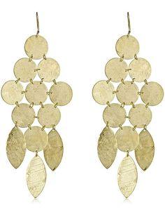 Chandelier Earrings in Gold