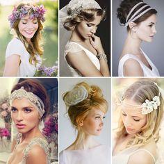 Birbirinden farklı ve iddialı gelin saç/makyaj trendleri..