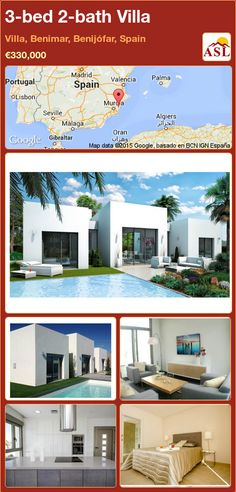 3-bed 2-bath Villa in Villa, Benimar, Benijófar, Spain ►€330,000 #PropertyForSaleInSpain