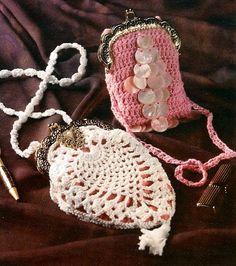 Y778 Crochet PATTERN ONLY Vintage Treasures Tiny by BeadedBundles, $2.95