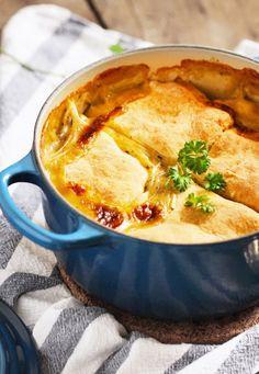 Biscuit-Topped Chicken Pot PieReally nice recipes. Every  Mein Blog: Alles rund um die Themen Genuss & Geschmack  Kochen Backen Braten Vorspeisen Hauptgerichte und Desserts # Hashtag