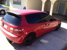 A 1995 Honda Civic on MobileAutoScene.com #honda #civic