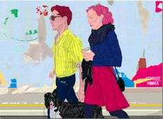 Mario Sughi, Silent journeys, pittura digitale, 35x28cm - 2011